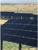 Horizon solar garden