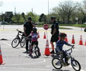 Police bike rodeo