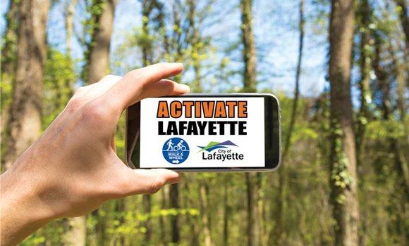 Activate Lafayette mobile app