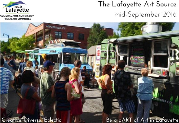 Lafayette Arts  Source mid September