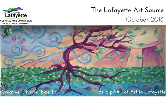 October Lafayette Arts Source