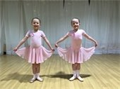 Two young dancers at RAD