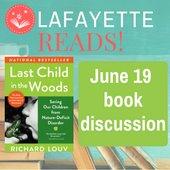 Lafayette Reads - Richard Louv
