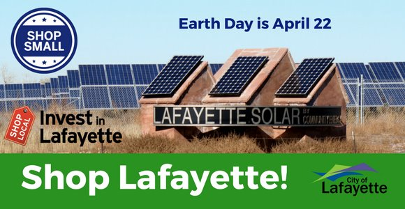 Shop Lafayette and save the earth