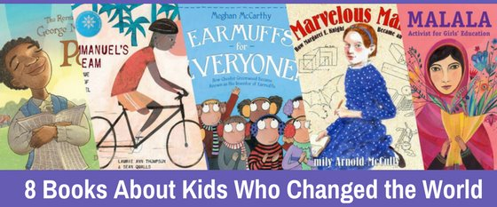 Books about kids who changed the world