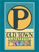 Old Town Public Parking Map