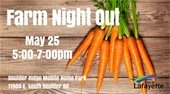 Farm NIght Out on May 25