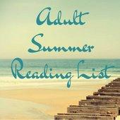 Adult Summer Reading List