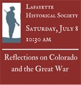 Historical Society presents WWI Centennial Program
