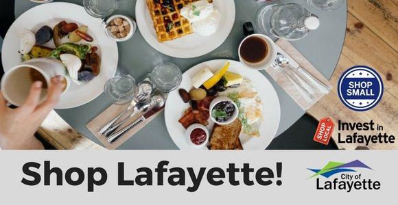 Breakfast Abounds in Lafayette!  Shop Lafayette
