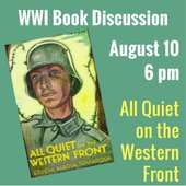 WWI Book Group August