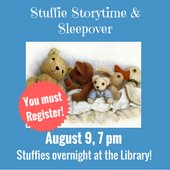 Stuffie Storytime and Sleepover