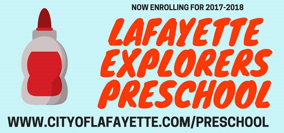 Lafayette Preschool Header