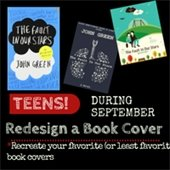 Redesign a Book Cover Contest