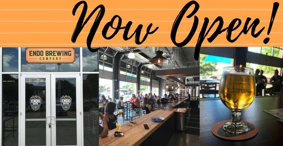 Endo Brewing now open