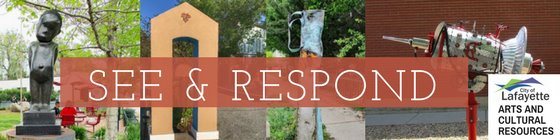 Art at the Library - See and Respond Exhibit