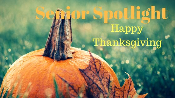 Senior Spotlight November