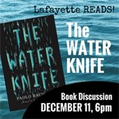 Lafayette Reads! Water Knife