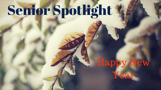 Senior Spotlight Happy New Year 2018