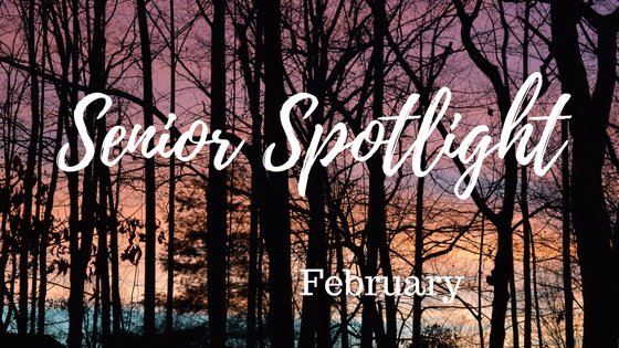 February 2018 Senior Spotlight