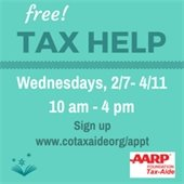 Free tax service at the Library