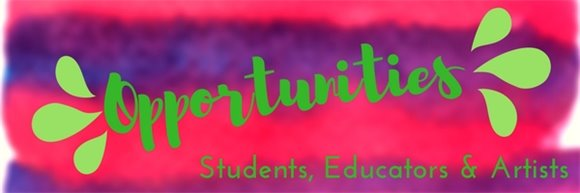 Arts opportunities for teachers, students and artists