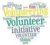Thank you volunteer graphic