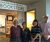 Friends bookstore sign