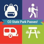 Colorado State Park Passes at the Library
