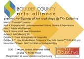 Business of arts workshops