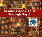 Friends of the Library Book Sales through May 6