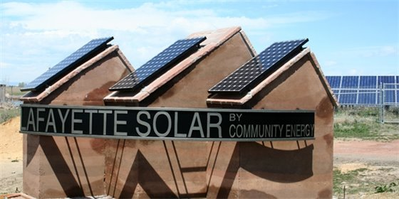 Lafayette Solar by Community Energy