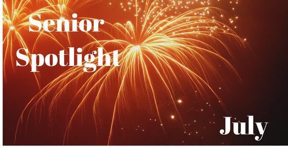 July Senior Spotlight fireworks