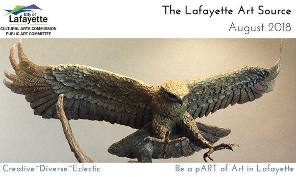 Red-tailed Hawk sculpture by JoEllen Domenico