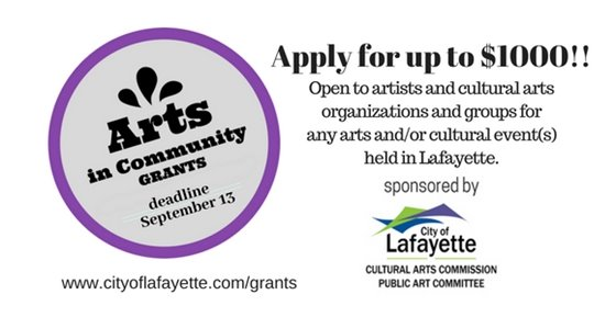Arts in Community grants