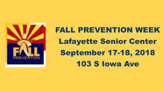 Fall Prevention Week 2018