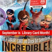 September is Library Card Month