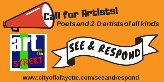See & Respond to Art on the Street deadline 9/17