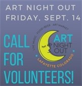 Call for Volunteers for Art Night Out