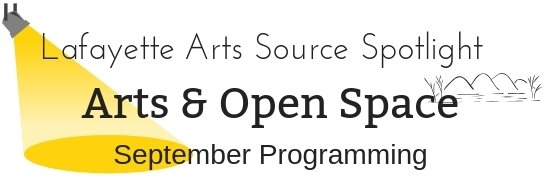Events in September by Open Space and Arts and Cultural Resources