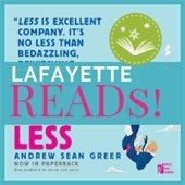 Lafayette Reads December selection, Less by Andrew Greer