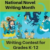 NaNoWriMo-National Novel Writing Month for kids 17 and younger