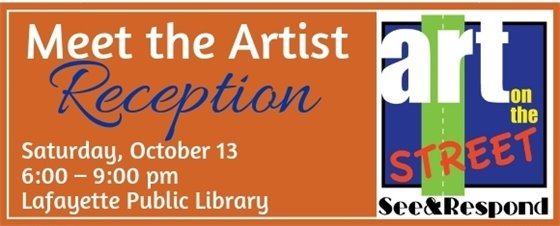 Meet the Artist See and Respond Reception 2018