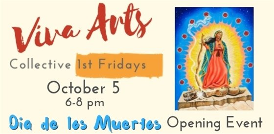 Dia de Los Muertos Opening Event at The Collective October 5 6-8 PM
