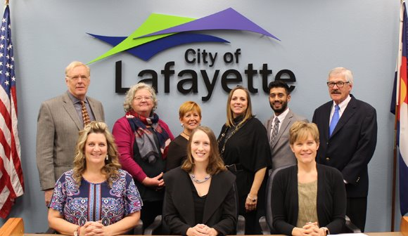 Lafayette City Council group photo