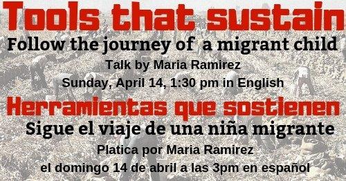 Talk by celebrated educator and speaker, Maria Ramirez 4/14/19 1:30 PM