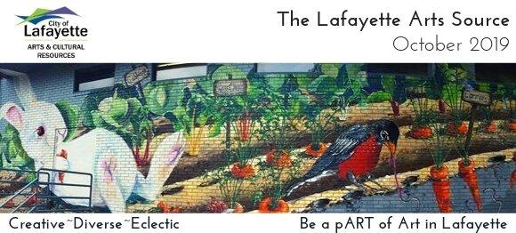 October 2019 Lafayette Arts Source