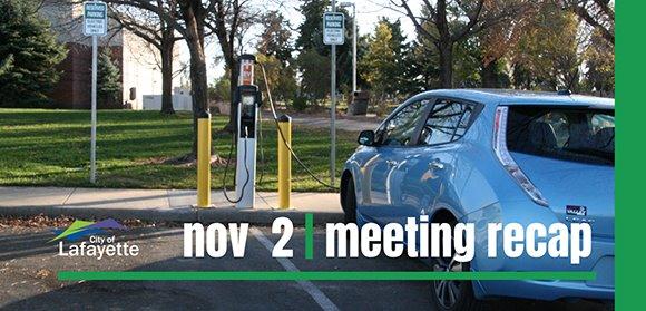 Nov. 2 City Council meeting recap graphic