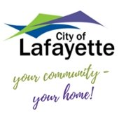 City of Lafayette logo- your community - your home