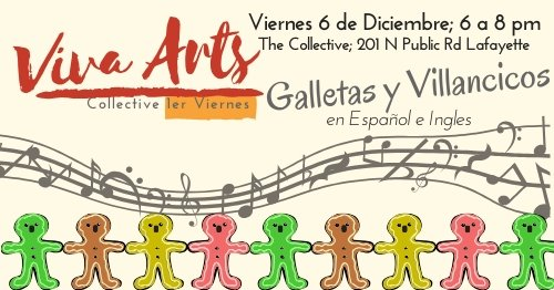December 6; 8 PM Cookies and Caroling at The Collective